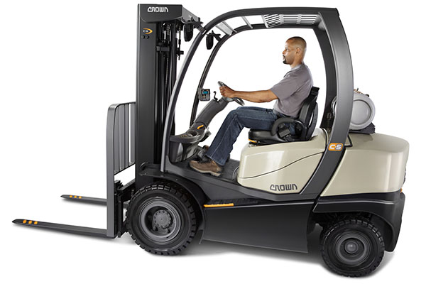 Crown forklift
