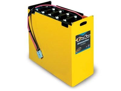 Deka battery for forklift equipment
