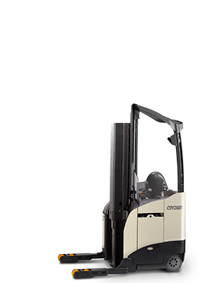 Crown stand up forklift and electric forklift