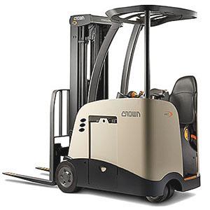 Forklift for sale. Forklift and Crown stand up forklift.