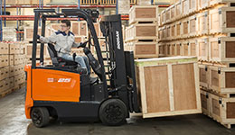Electric forklift and electric forklift for sale.