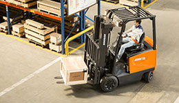 Electric forklift for sale.